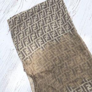 Silk Fendi scarf